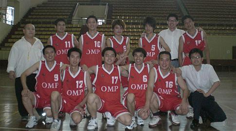 公司篮球队-发扬团队精神