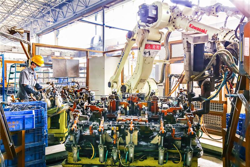 川崎点焊机机器人