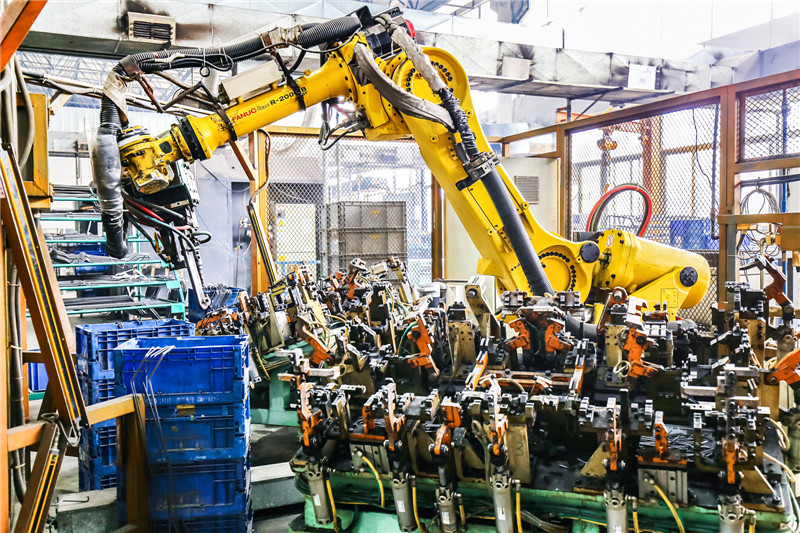 发那科点焊机机器人